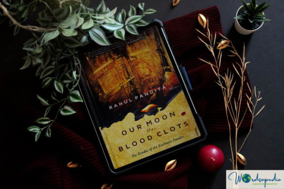 Our moon has bloodclots book cover Rahul Pandita