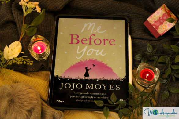 Me Before You by Jojo Moyes Book Cover