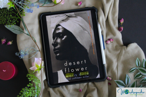 desert flower by Waris Dirie - cover picture