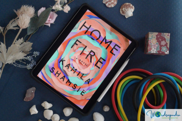 Home Fire by Kamila Shamsie - cover picture